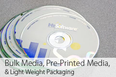 Bulk Media, Pre-Printed Media, and Light Weight Packaging
